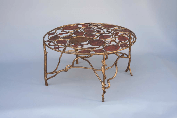 Claude Lalanne_Table aux serpents © Claude Lalanne, Courtesy Galerie Mitterrand, Photo Capucine de Chabaneix