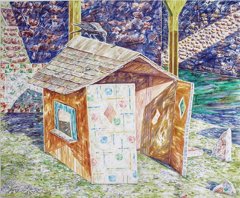 Emilie Picard_exposition_La part de l'ombre_galerie Bertrand Gillig