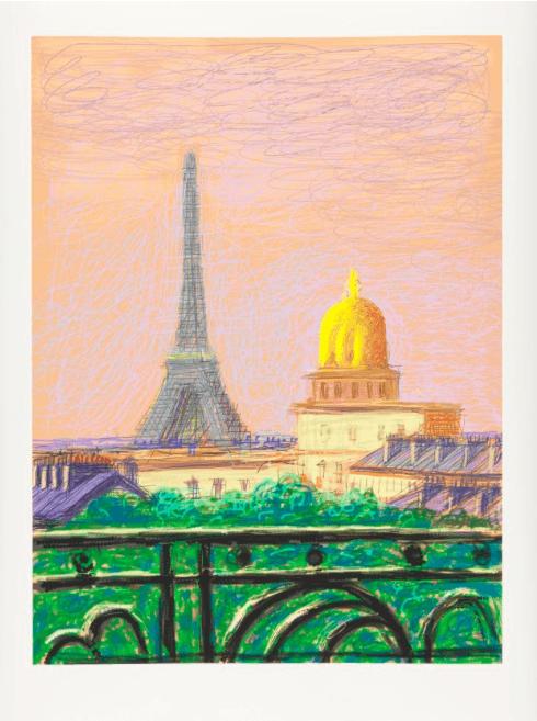 Galerie Lelong & Co_David Hockney_parisgalleryweekend
