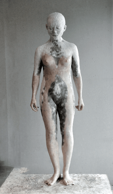 Lucy Glendinning_exposition_Only Human_Galerie Da-End_Paris