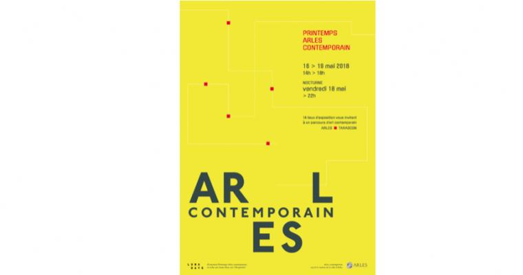 16▷19/05 – PRINTEMPS ARLES CONTEMPORAIN 2018