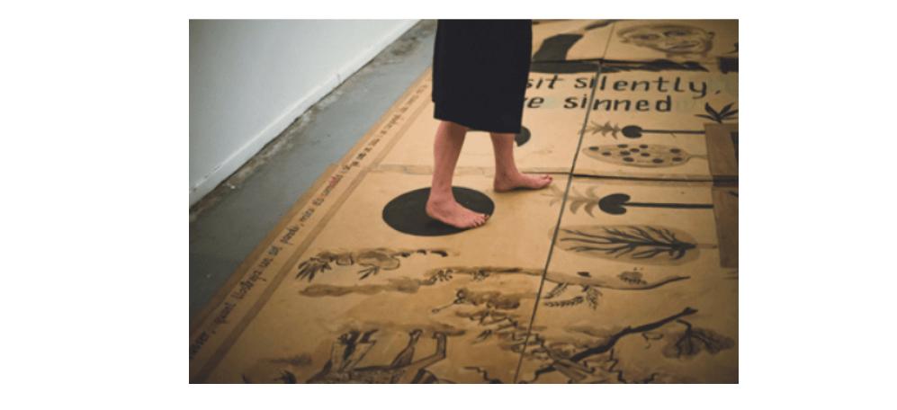 28/04▷09/06 – TERE RECARENS – BAHARESTAN CARPET – GALERIE ANNE BARRAULT PARIS