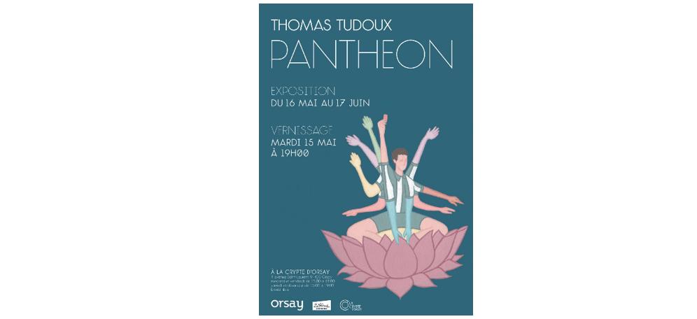 16/05▷17/06 – THOMAS TUDOUX – PANTHÉON – LA CRYPTE D'ORSAY