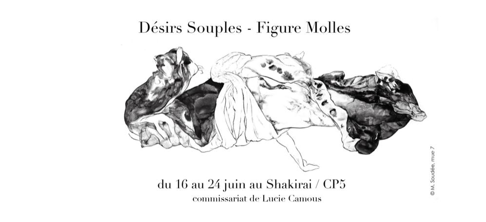 16▷24/06 – DÉSIRS SOUPLES – FIGURES MOLLES – SHAKIRAIL PARIS