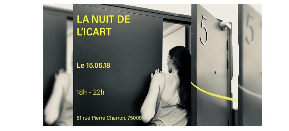 15/06 – LA NUIT DE L'ICART – PARIS