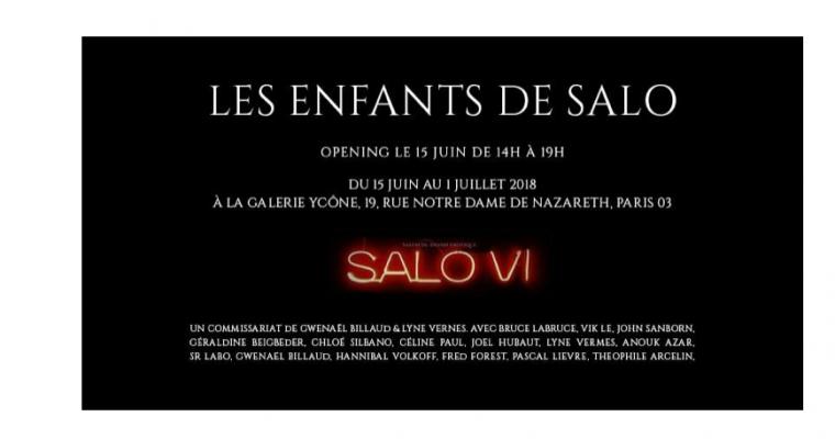 15/06▷01/07 – LES ENFANTS DE SALO – YCÔNE GALERIE PARIS