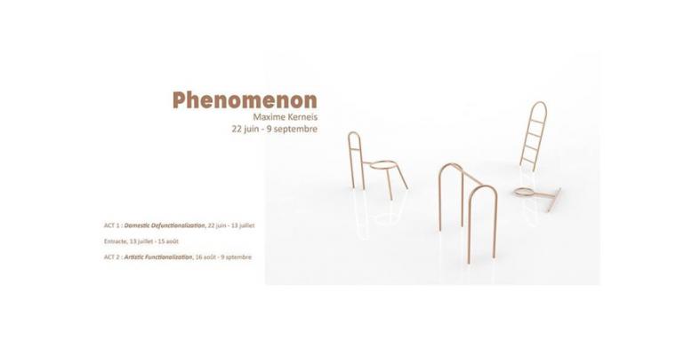 22/06▷09/09 – MAXIME KERNEIS  – PHENOMENON – CAPSULE GALERIE RENNES