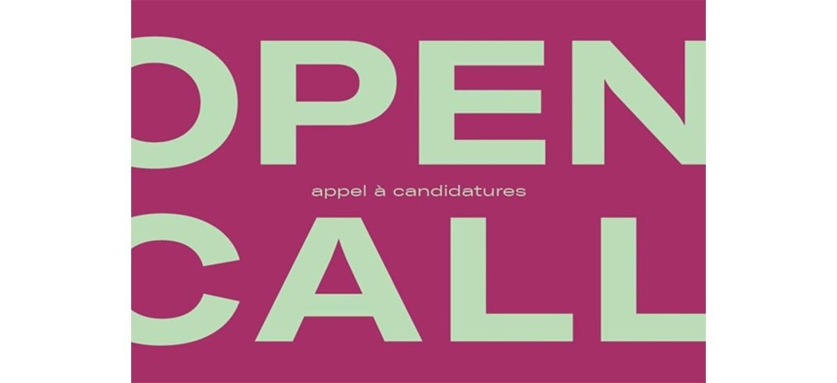 ▷16/09 – OPEN CALL JEUNE CRÉATION 2019