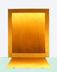Louis Cane  Sol/Mur, 1974 Huile sur toile métissée, 280 x 240cm