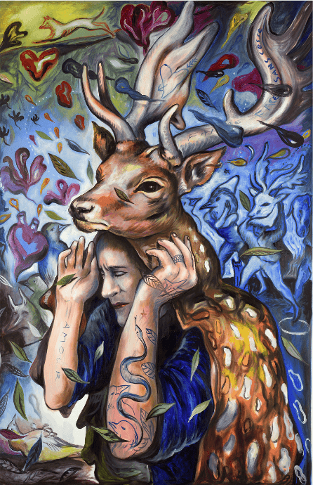 Carmelo Zagari_Le Miroir de l'animal_Galerie Sator Paris