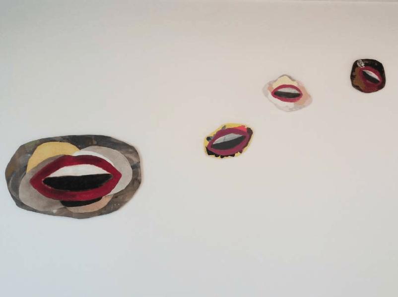 We are the peintres_Série Bouches célestes_exposition_Les hommes de la Mancha_Double V Gallery