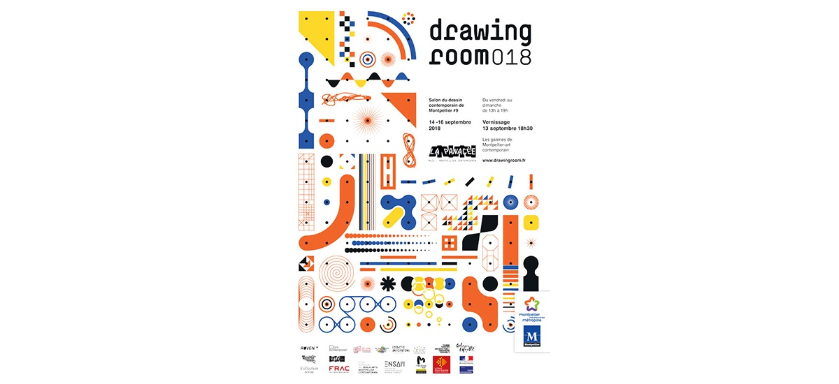 14▷16/09 – Drawing room 018 – Salon du dessin contemporain de Montpellier
