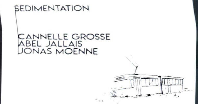 19▷31/07 – SÉDIMENTATION – GRANDE SURFACE – SAINT-GILLES BRUXELLES
