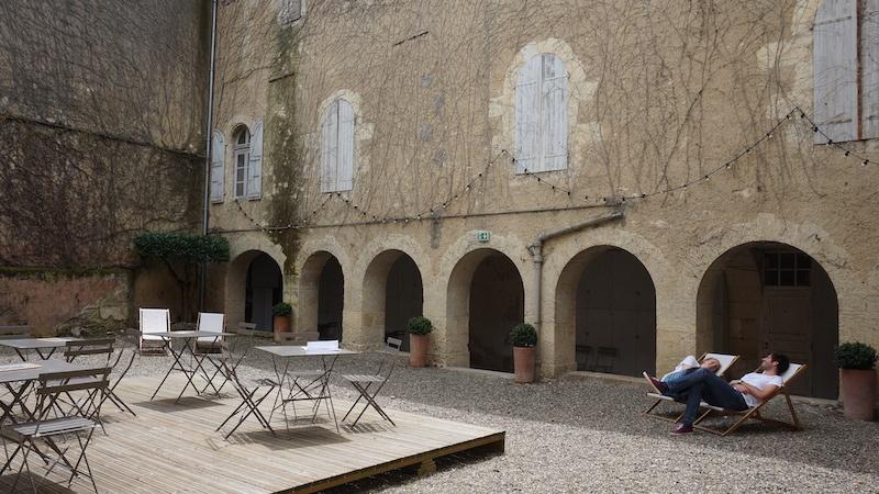 vue extérieure Memento, Espace départemental d'art contemporain Auch