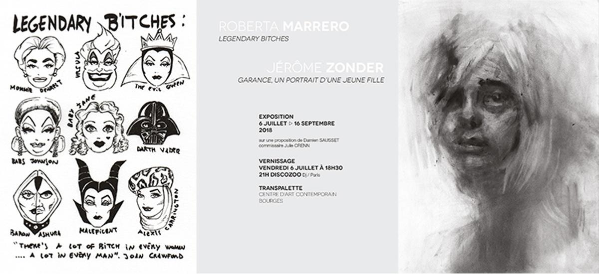 06/07▷16/09 – ROBERTA MARRERO et JÉRÔME ZONDER – TRANSPALETTECENTRE d'ART contemporain Bourges