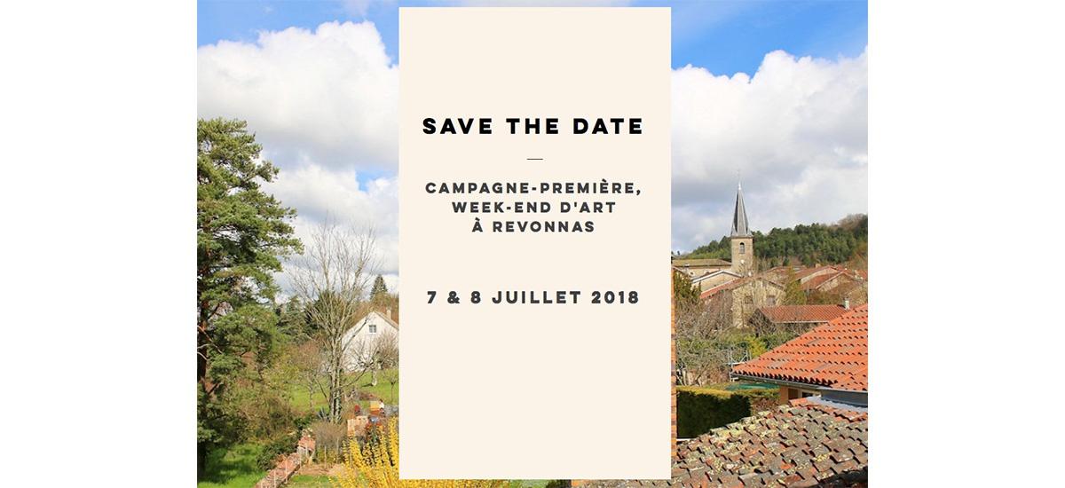 07▷08/07 – Campagne-Première – Week-end d'art contemporain au cœur du village de Revonnas