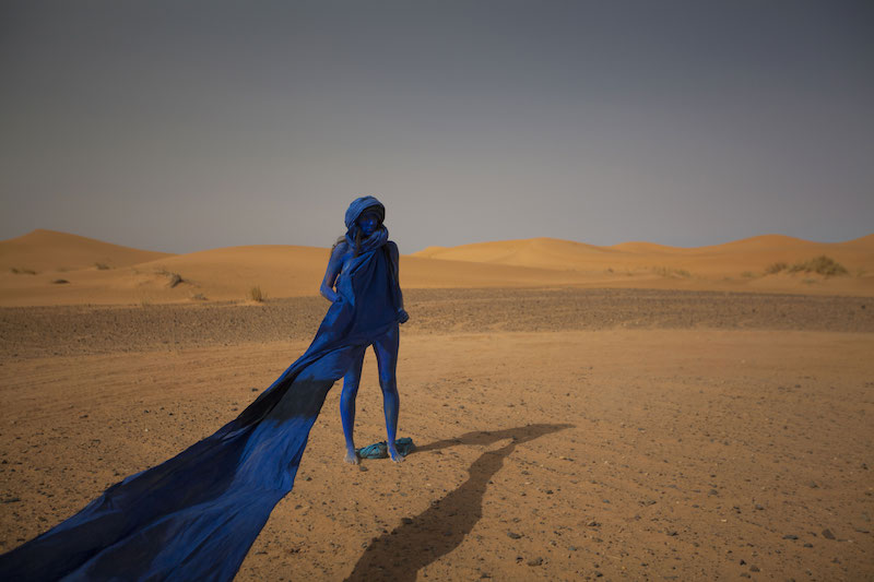 Sarah Trouche. Nomad / action for Sahara, 2015, Courtesy ADAGP/ Trouche