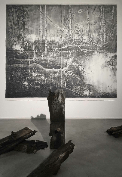 François Réau_Eclipse_exposition_La Forêt des Esprits_Plateforme_Paris