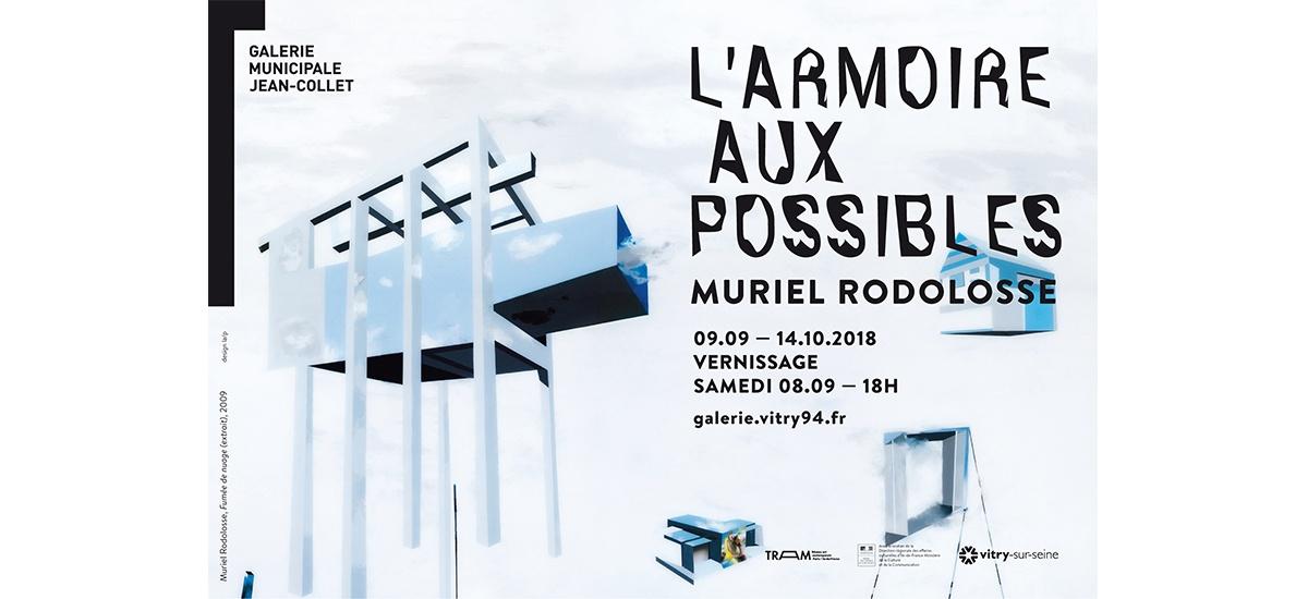 09/09 ▷ 14/10 – MURIEL RODOLOSSE – L'ARMOIRE AUX POSSIBLES – GALERIE MUNICIPALE JEAN-COLLETVITRY-SUR-SEINE