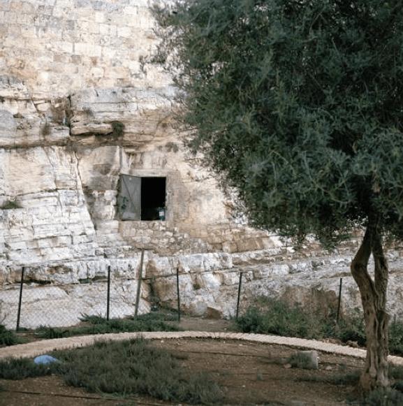Les racines du ciel_Galerie Françoise Besson_Lyon_Gilles Verneret_Jérusalem de Jésus, le tombeau