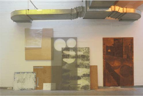 Margaux Barthélemy & Sans titre 2016 exposition SM oeuvre Basile Ghosn