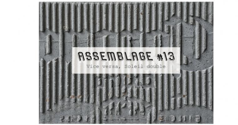 08▷28/09 – NÉPHÉLI BARBAS & JUAN GUGGER – ASSEMBLAGE #13 – VICE VERSA, SOLEIL DOUBLE – JULIO ARTIST-RUN SPACE PARIS