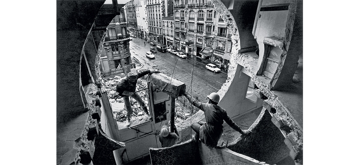 05/06▷23/09 – Gordon Matta-Clark – Anarchitecte – Jeu de Paume Paris