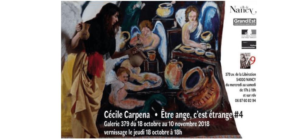 18/10▷10/11 – CÉCILE CARPENA – ÊTRE ANGE, C'EST ÉTRANGE #4 – ASSOCIATION ET GALERIE 379NANCY