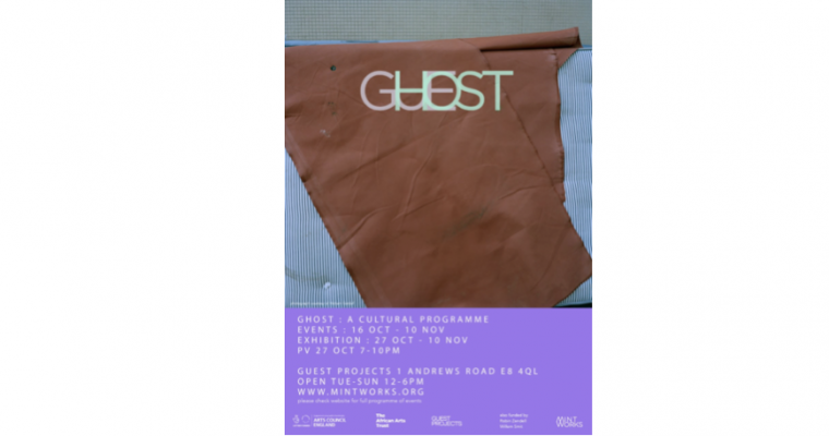 27/10▷10/11 – GHOST – GUEST PROJECTS LONDON