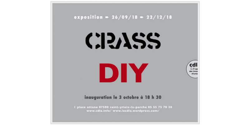 03 ▷ 17/10 – CRASS-DIY – CENTRE DES LIVRES D'ARTISTESSAINT-YRIEIX-LA-PERCHE