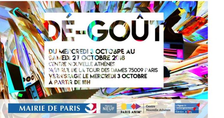 03 ▷ 27/10 – DÉ-GOÛT – CENTRE NOUVELLE ATHÈNES PARIS