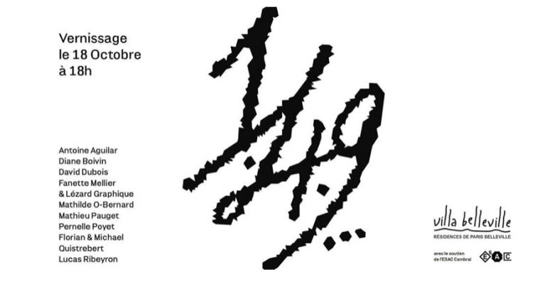 18▷21/10 – PROJET I.IV.IX. – VILLA BELLEVILLEPARIS