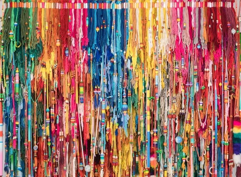 exposition_Sixe Paredes_Color, Forma y Materia_Galerie Le Feuvre & Roze_Paris