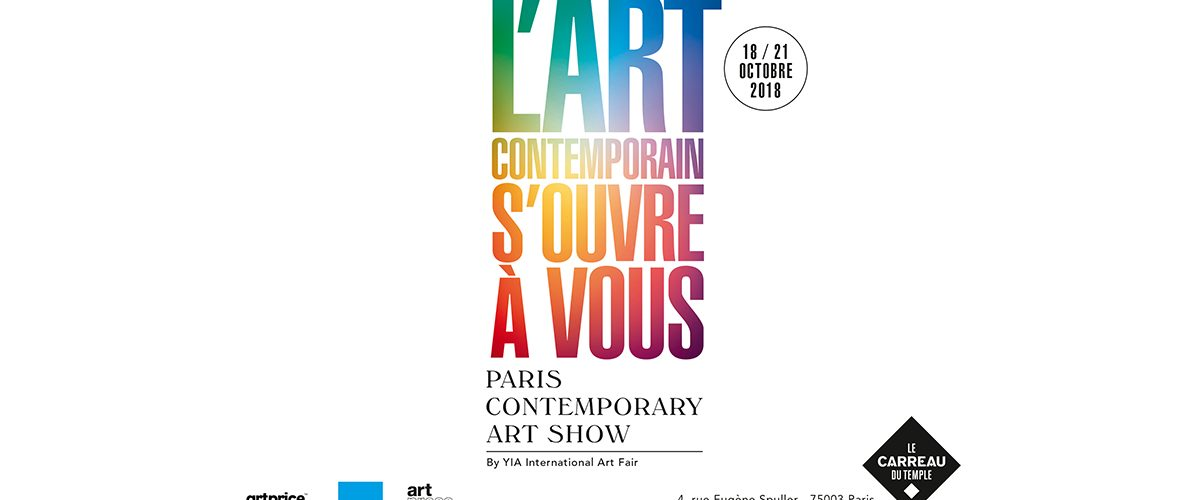 18▷21/10 – P/CAS – PARIS CONTEMPORARY ART SHOW – CARREAU DU TEMPLE PARIS