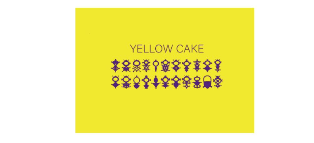 15/11▷22/12 – CAROLINE SURY&LUDOVIC AMELINE – YELLOW CAKE – GALERIE PORTE AVIONMARSEILLE