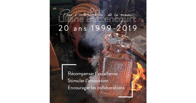 ▷03/04/19 – APPEL À CANDIDATURES – PRIX LILIANE BETTENCOURT POUR L'INTELLIGENCE DE LA MAIN – 2019