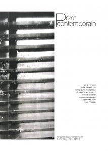 Revue Point contemporain #11