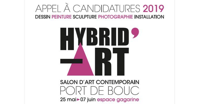 ▷15/03 – APPEL A CANDIDATURE – HYBRID'ART-le Salon d'art contemporain de Port de Bouc