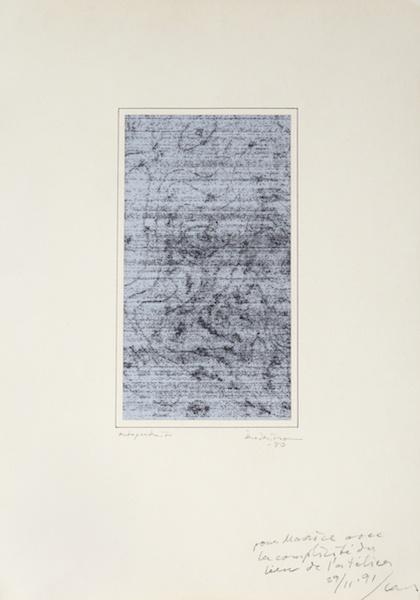 Lars Fredrikson, Autoportrait_DE LA PEINTURE - Galerie ETC_Paris