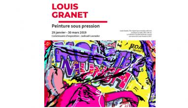 31/01 AU 30/03 – LOUIS GRANET – PEINTURE SOUS PRESSION – TOURS SOCIÉTÉ GÉNÉRALE LA DÉFENSE PARIS