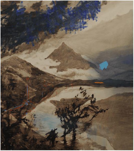Olivier Masmonteil_Paysage_Galerie Thomas Bernard_Cortex Athletico_Paris