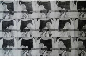 17/01 AU 16/02 – PHILIPPE MAINGUY– FRANCHIR LA LIGNE – ATELIER CIRCULAIRE  CENTRE D'ARTS IMPRIMÉSMONTRÉAL