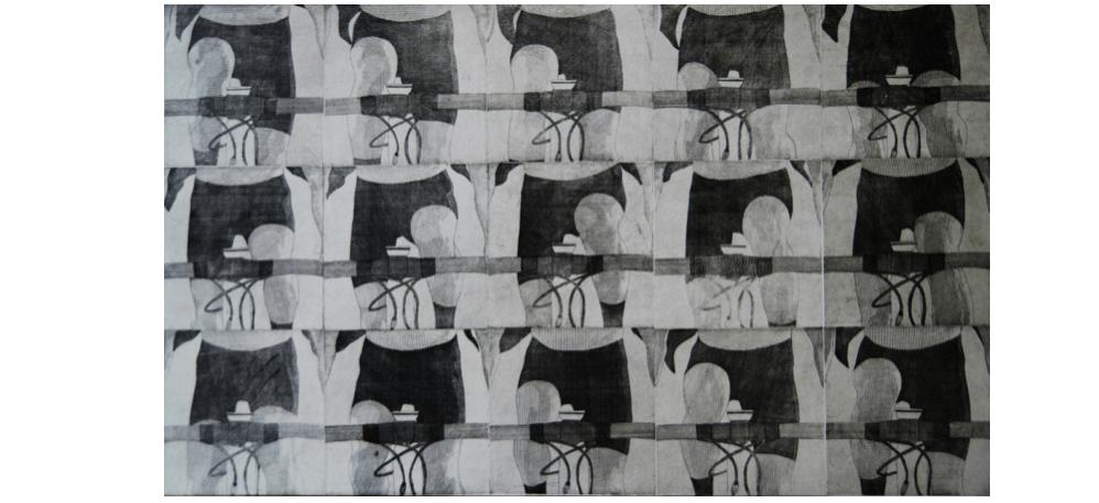 17/01 AU 16/02 – PHILIPPE MAINGUY– FRANCHIR LA LIGNE – ATELIER CIRCULAIRE| CENTRE D'ARTS IMPRIMÉSMONTRÉAL