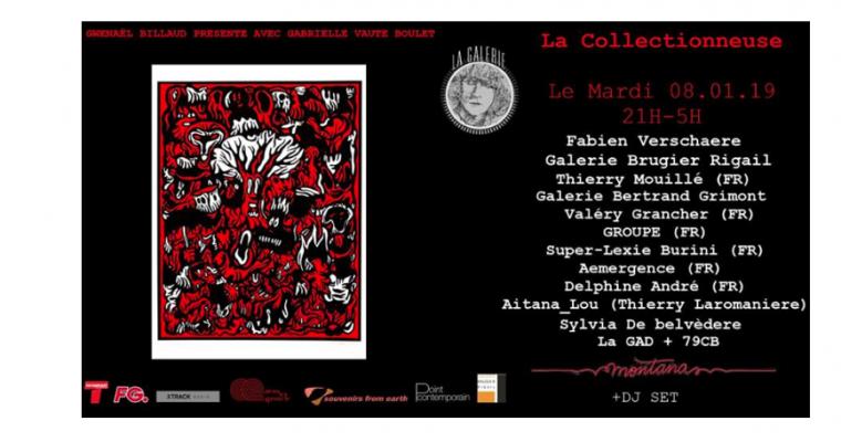 08/01 – 21H À 05H – SOIRÉE-ÉVÉNEMENT LA COLLECTIONNEUSE– LE MONTANA PARIS