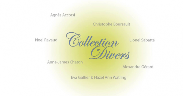 23/01 AU 02/03 – COLLECTION DIVERS – GALERIE PORTE AVION MARSEILLE
