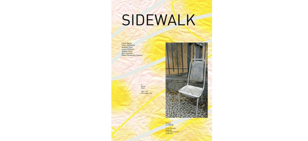 02/02 – 10H À 20H – SIDEWALK – ANNEXE DE L'EESAB-SITE DE RENNES