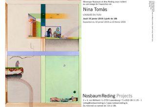 10/01 AU 23/02 – Nina Tomàs – Logiques du flou – Nosbaum Reding Projects Luxembourg