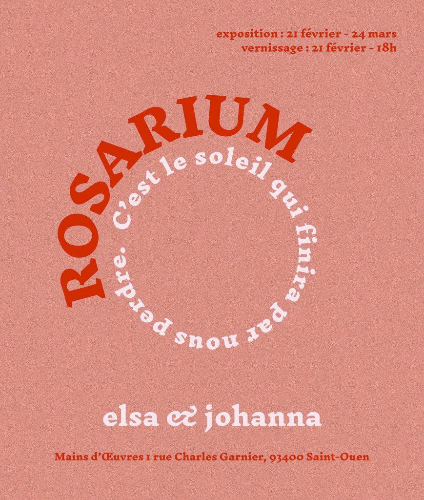 Elsa & Johanna_Rosarium_Mains D'œuvres_Saint-Ouen
