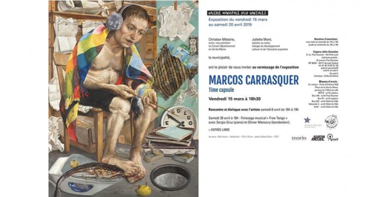 15/03 AU 20/04 – MARCOS CARRASQUER – TIME CAPSULE – GALERIE MUNICIPALE JULIO GONZALEZ, ARCUEIL