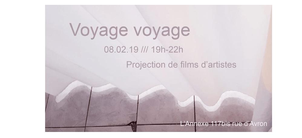08/02 – 19H – PROJECTION DE FILMS D'ARTISTES – L'ANNEXE PARIS